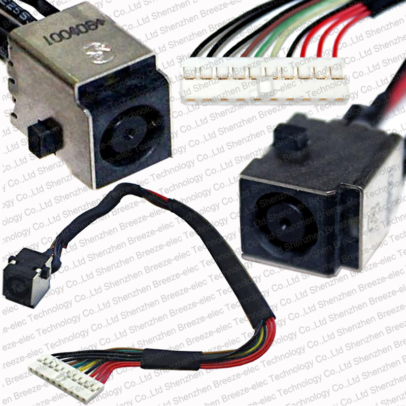 100% Tested NEW Laptop notebook AC DC Power Jack socket and Cable Wire connector for HP Envy 15 15T series (Not Touchsmart) new laptop dc power jack cable for hp 15 af 15 ac 15 ae 799736 y57 799736 s57 dc jack charging cable