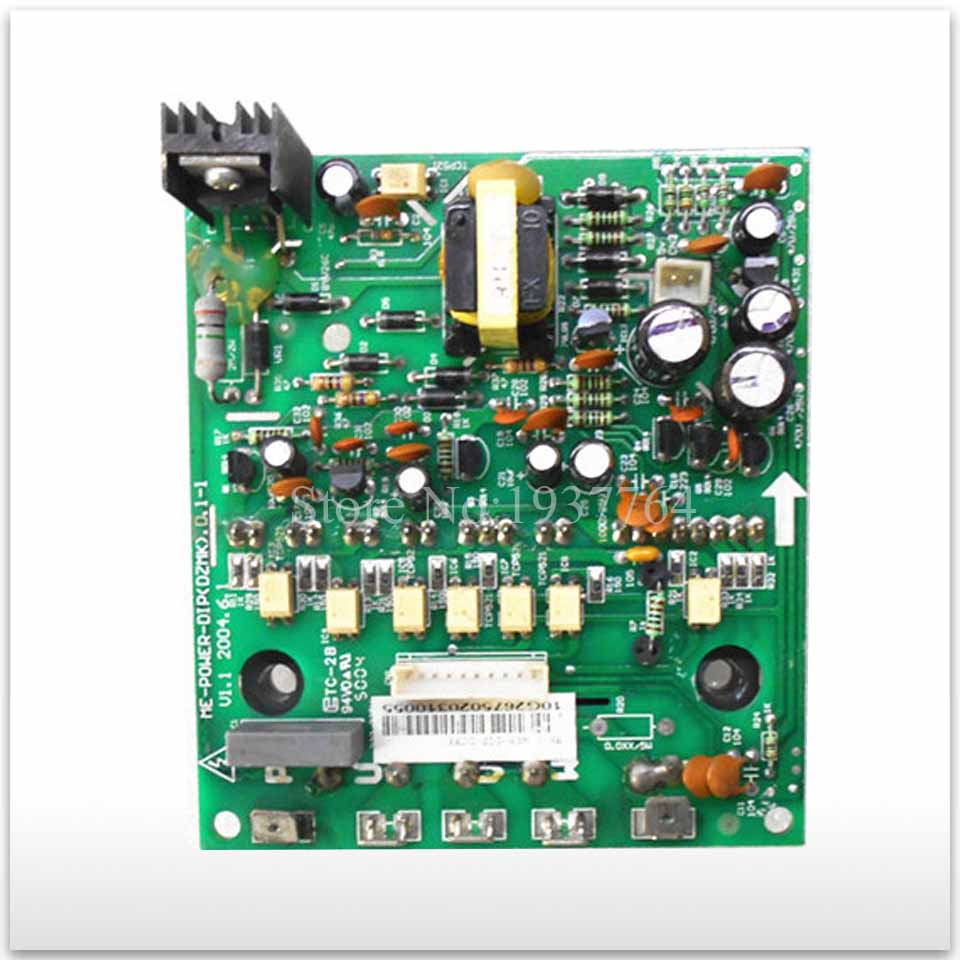 90% new for Air conditioning computer board ME-POWER-DIP(DZMK) used board