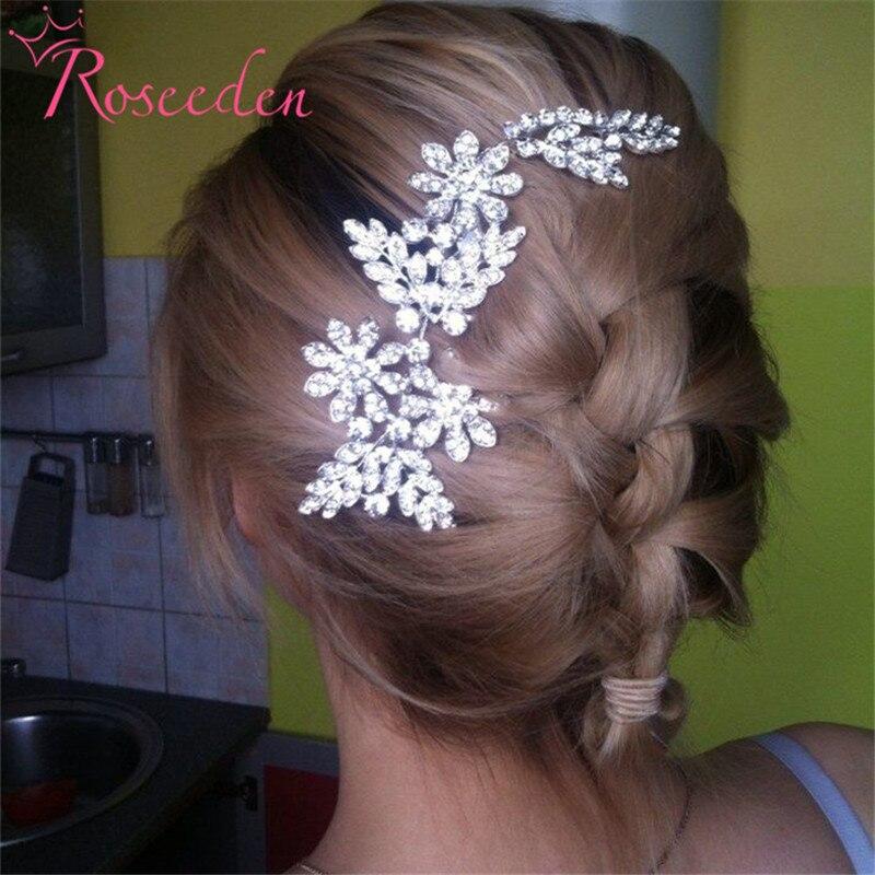 aliazh nuserie Kombinimet e flokëve rhinestone lënë bizhuteri - Bizhuteri të modës - Foto 5