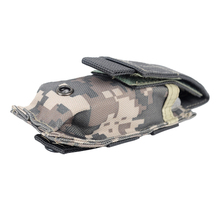 14*6cm 600D Tactical Bag Outdoor Camping Hiking Molle Military Pack Key Mini Tools Magazine Holster Pouch Sport Bag
