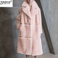 2018-Winter-Wool-Overcoat-Warm-Outerwear-Women-Pink-Faux-Fur-Coat-Turn-Down-Collar-Long-Sleeve.jpg_200x200
