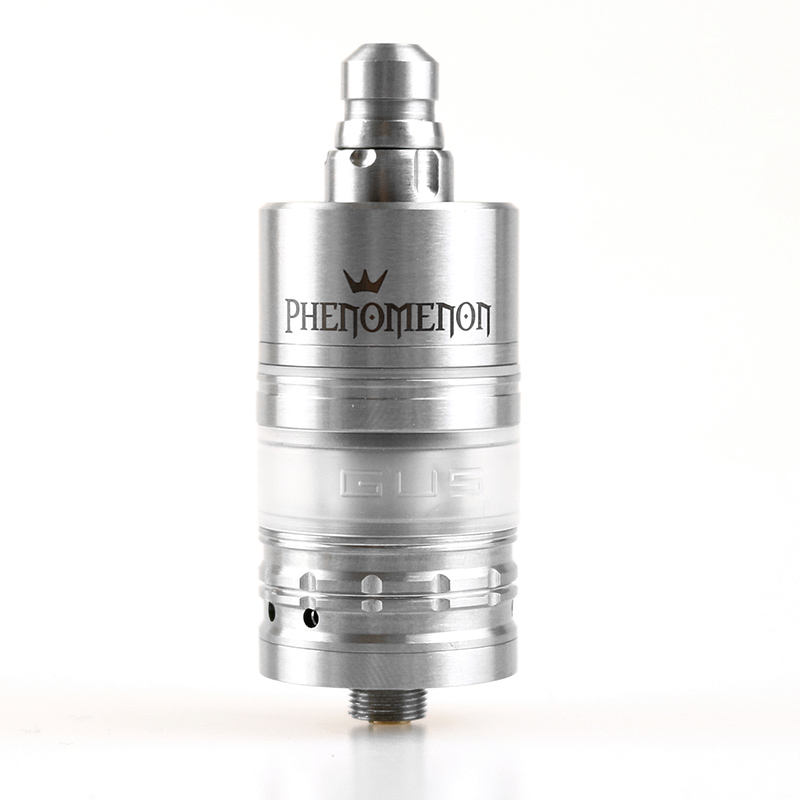 Menelaus RBA Atomizer 22mm With The Unique Aiolos Characteristics 316SS Mouth To Lung Rta Rebuildable Dripping Atomizer