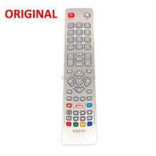 Mando a distancia SHWRMC0115 para Smart TV LED Sharp Aquos, con Netflix, Youtube, botón 3D