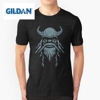 GILDAN Tee Shirts Men S Blue Beard Viking Berserker Men Crew Neck Short Sleeve T Shirts