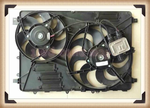 Placeholder Cooling Fan Electric Radiator For Land Rover Freelander 2 Lr2 Range Evoque Radiators Fans