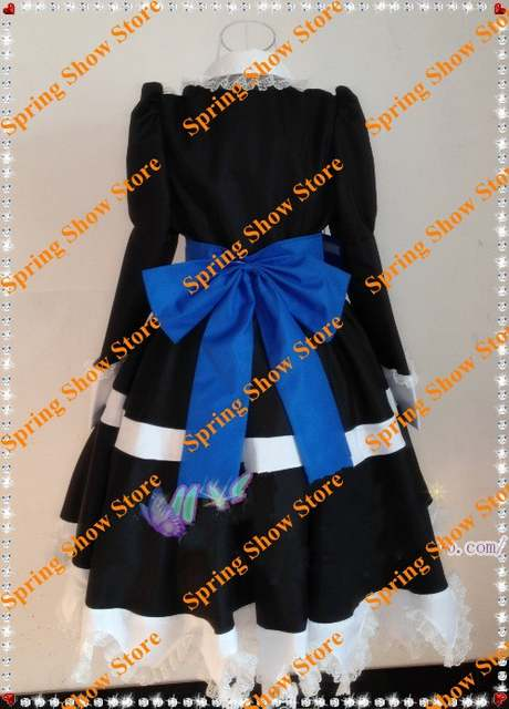 843d586cc placeholder FREE SHIPPING Panty   Stocking with Garterbelt Anarchy Stocking  Black Dress Custom Made Cosplay Costume Deluxe