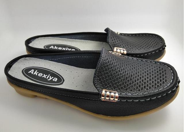 Akexiya 2017 Flip Flops Slippers Women Sandals Shoes Leisure Slippers Slip-On Comfortable Sandals Flip Flops Cut-Outs Shoes