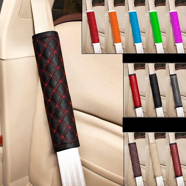 Безопасности автомобиля ремень плеча pad коммерческий пункт комфортно авто ремня безопасности обложки для салона автомобиля, ремни, аксессуары