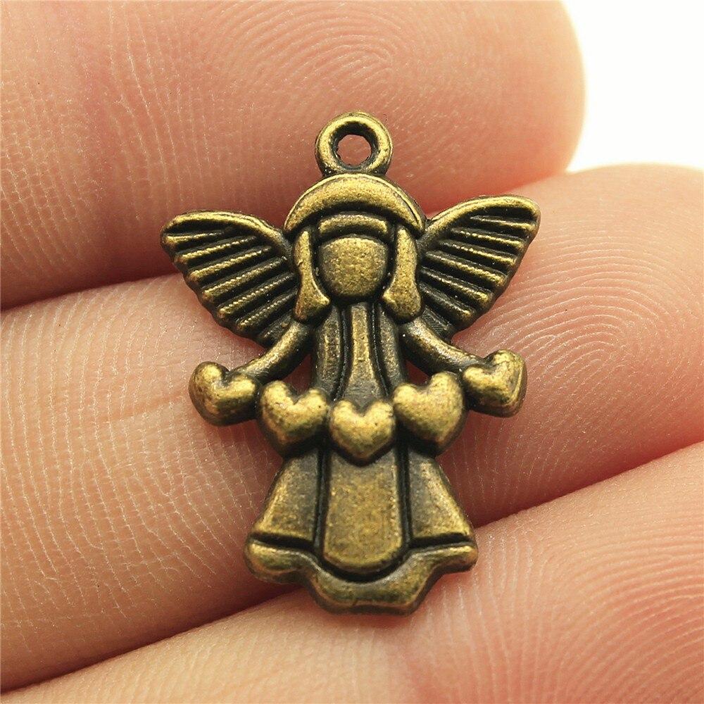 Bee Charm//Pendant Tibetan Steampunk Antique Bronze 15mm  20 Charms DIY Jewellery