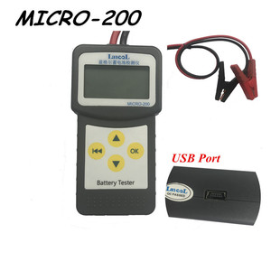 Image 3 - LANCOL herramienta de diagnóstico de comprobación profesional, probador de batería cca 12v, probador de carga de batería MICRO 200 Analizador de batería