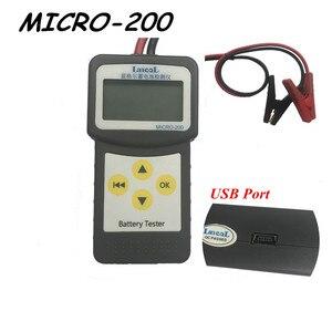 Image 3 - Lancol Professionele Controleren Diagnotic Tool Cca Batterij Tester 12V Batterij Load Tester MICRO 200 Batterij Analyzer