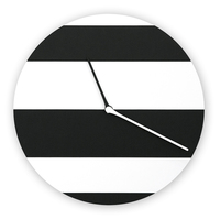 Black Modern Simple Designer White Wall Clocks Minimalist Digital Silent Watch Living Room Best Selling 2019 Products 3DBGV61V