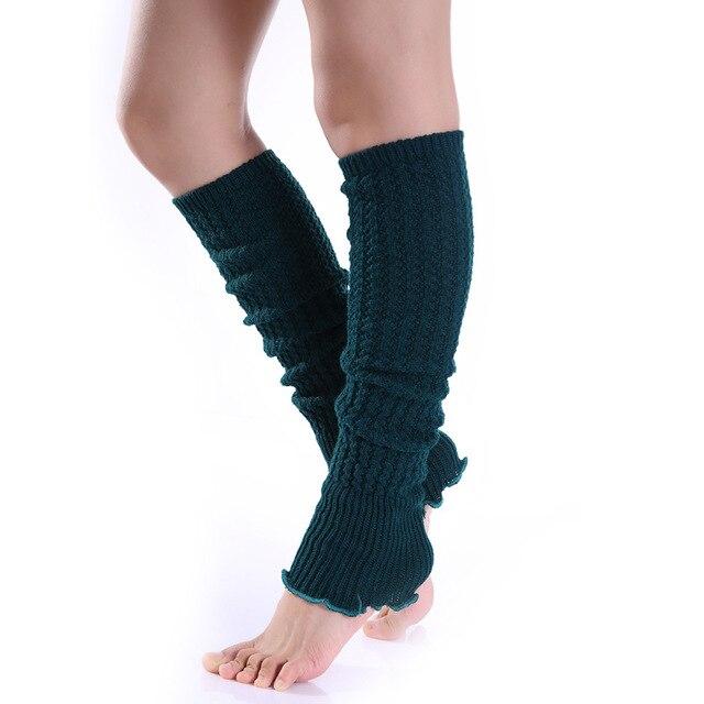 Las mujeres de la nueva manera caliente calentador de la pierna que ...
