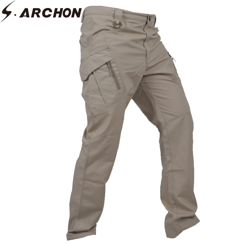 Archon Tactical Trousers Outdoor Muti-Pockets Waterproof Overalls Work Pants
