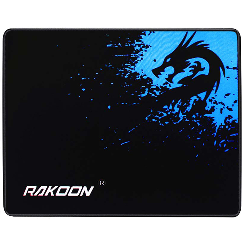 Rakoon Gaming Mouse Pad Computer Mousepad Game Internet Bar Big Mouse Mat Speed Control Version Locking Edge For PC Laptop Gamer