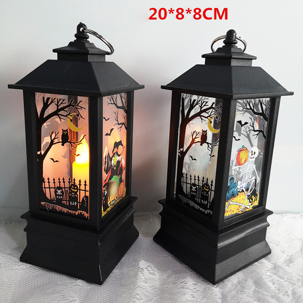 Christmas Decorations For Home Nature Halloween Light Glowing Lantern Candle With LED Party Ornament For Christmas Decoration