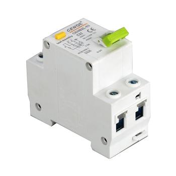 fashionable outline mini earth leakage Circuit breaker residual current circuit beaker DPNL1P+N 230V 16A 20A 25A 32A 50HZ/60HZ
