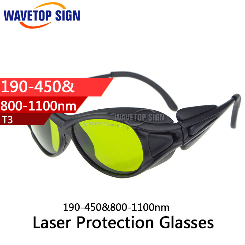 Laser protection glasses 190-450&800-1100nm laser head owx8060 owy8075 onp8170