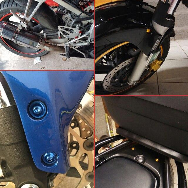 Фото универсальные болты для обтекателя мотоцикла винтовая гайка цена