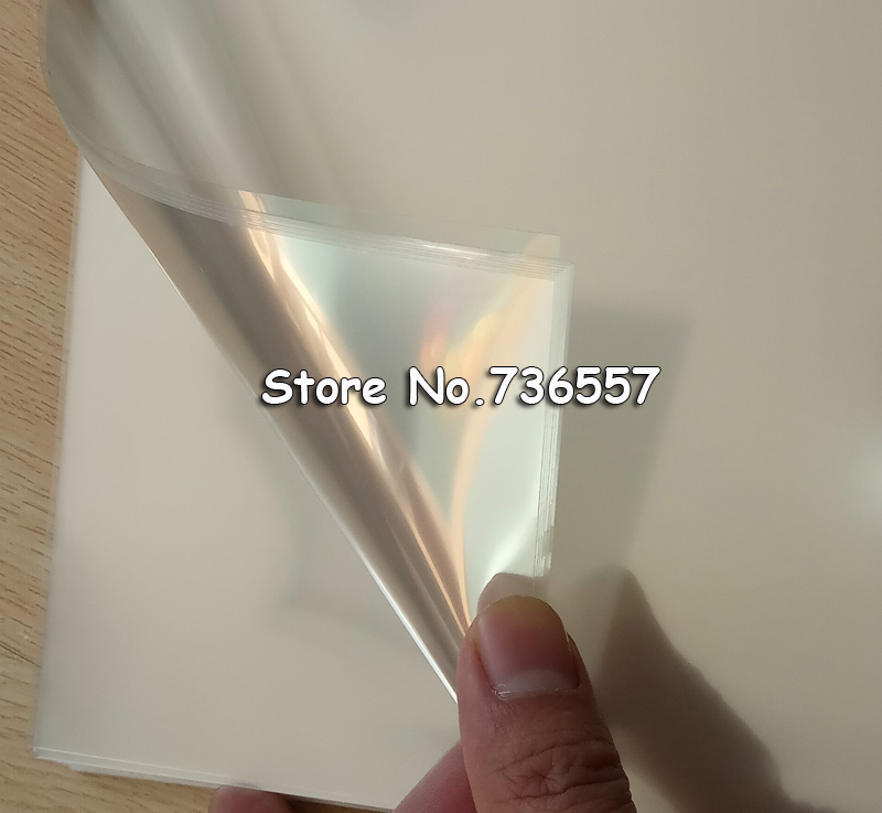 100pcs A4 Laser Printing Transparency Film Photographic Paper For PCB Stencils Screen Printing Pad Printing Hot