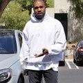 Уличная мода хип-хоп толстовки одежда kanye west eminem пуловеры хип-хоп спортивный костюм руно негабаритных белый балахон