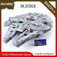 In Stock 05132 The Biggest Millennium toys Falcon 8445Pcs Ultimate Destroyer Star Wars Building Blocks Compatible doinbby 75192