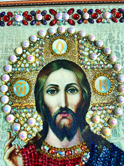 RUBOS DIY 5D Diamond Embroidery Icons Religion Beadwork Diamond Painting Cross Stitch Bead Pearl Sale Handicrafts Hobby Gift New