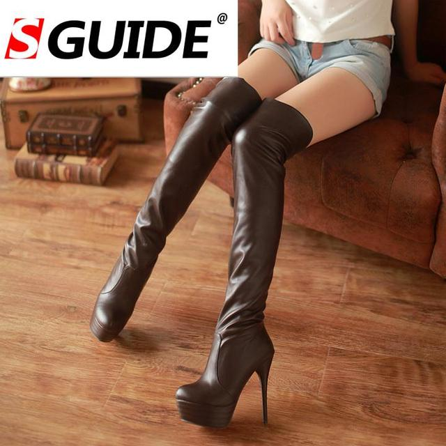 Aliexpress.com : Buy ladies Sexy autumn winter boots over the knee