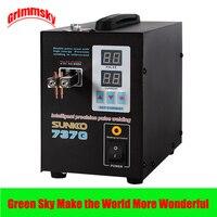 1.5kw precision pulse battery spot welder led light welding machine for 18650 battery pack spot welder