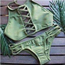 Las mujeres de Baño Bikini traje de Baño ropa de Playa Bikinis Trajes de baño de Hojas de Impresión Sexy Ropa de Playa