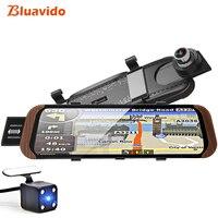 Bluavido 10 4G Android GPS Navigation ADAS Car Rearview mirror Video Recorder Full HD 1080P Car Camera DVR WiFi BT 4.0 Dash cam