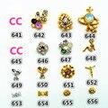 5 Pcs Unhas De Cristal Adesivos Cartões de Jóias Prego Decalques Da Arte Do Prego Adesivo Tiras para a Beleza Menina/Mulher