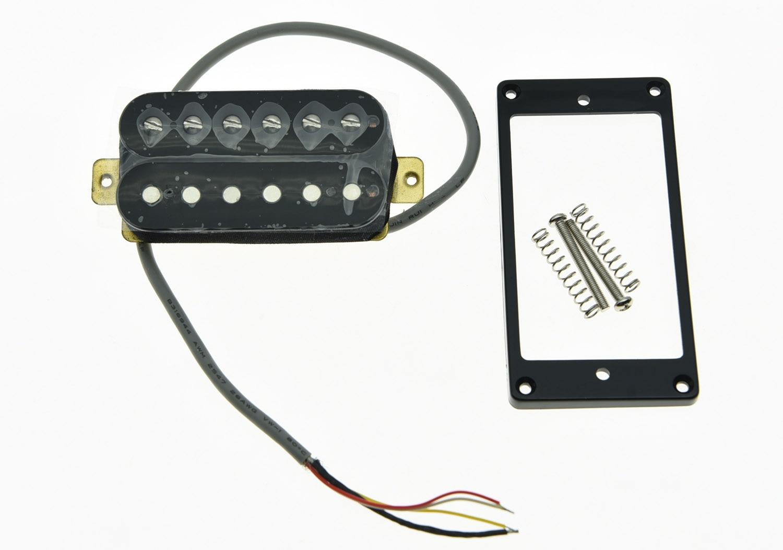 KAISH Black Alnico V Guitar Humbucker NECK Position Pickup Power Sound Pickups kaish black p90 high power sound neck