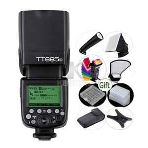 Image 1 - GODOX TT685C E TTL II 2.4G HSS 1/8000 s Wireless TTL Flash Light Speedlite per Canon EOS 650D 600D 550D 500D 5D Mark II III