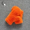2016 Guantes de piel de visón real bellas damas guantes al aire libre guantes calientes de punto de visón de piel de visón genuino