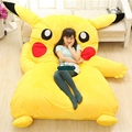 Dorimytrader Huge Japan Anime Pikachu Beanbag Plush Soft  Bed Pad Bedding Set Mattress Tatami Nice Present DY60331