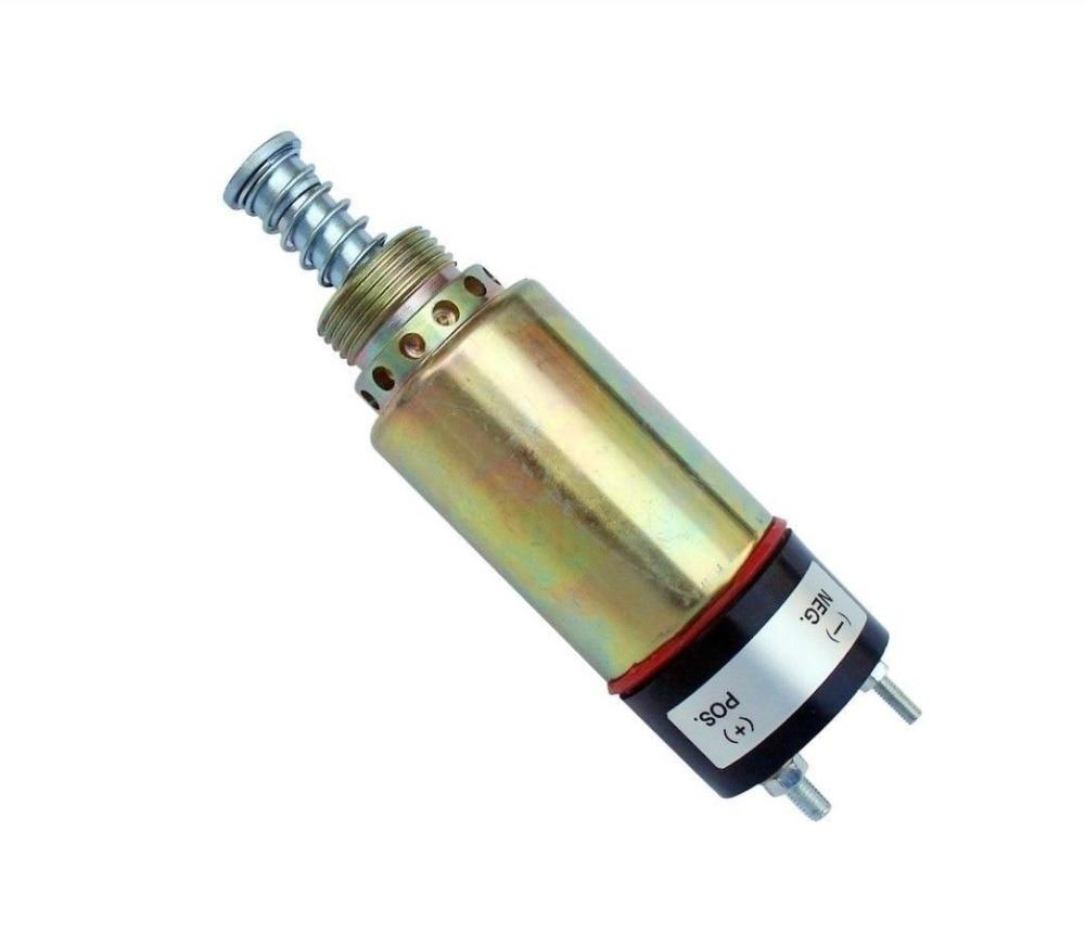 цена на E330B E330C 24V Shutoff Stop Solenoid Valve 125-5772 1255772 For Excavator, 3 month warranty