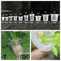 Engraftment Basket Vegetables Planting Nursery Basket Cup Net Cup Pots For Seedlings Hydroponics System Black Plastic Pot