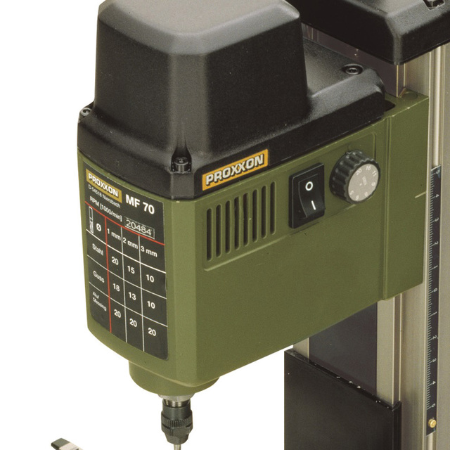 220V 100W PROXXON mini milling machine MF70 bench driller 2