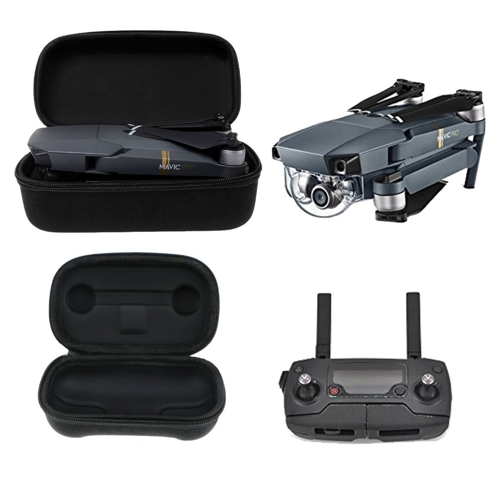 DJI Mavic Pro Case Foldable font b Drone b font Body and Remote Controller Transmitter Bag