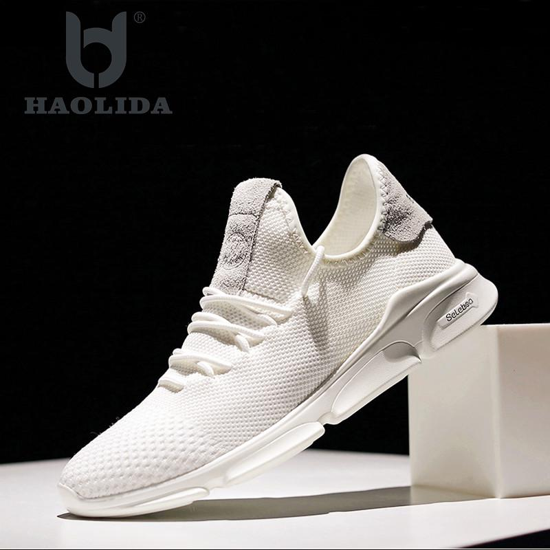 Men Casual Shoes Lightweight Breathable Flats Men Shoes Footwear Loafers Zapatos Hombre Casual Shoes Men Chaussure Homme Size 2017 new spring summer men s casual shoes cheap chaussure homme korean breathable air mesh men shoes zapatos hombre size 39 46 page 8