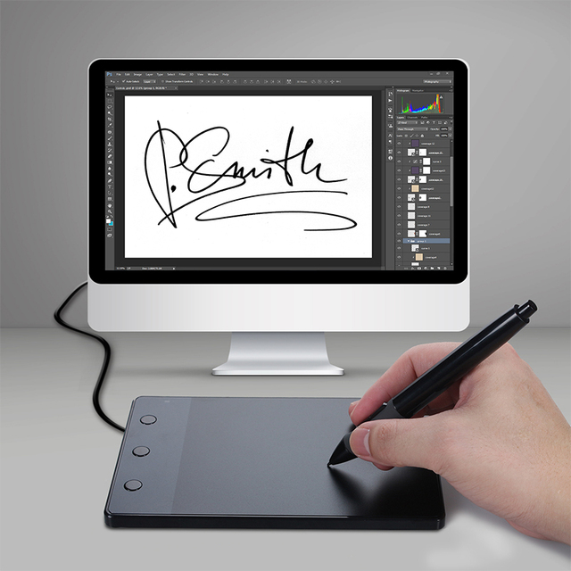 4″ x 2.23″ Professional Graphics Tablets