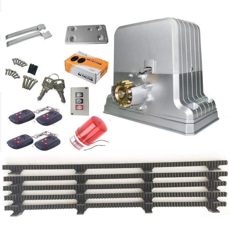 kraftig 1800 kg elektrisk automatisk skyvedørsåpnermotor 5 Nylon - Sikkerhet og beskyttelse - Bilde 4