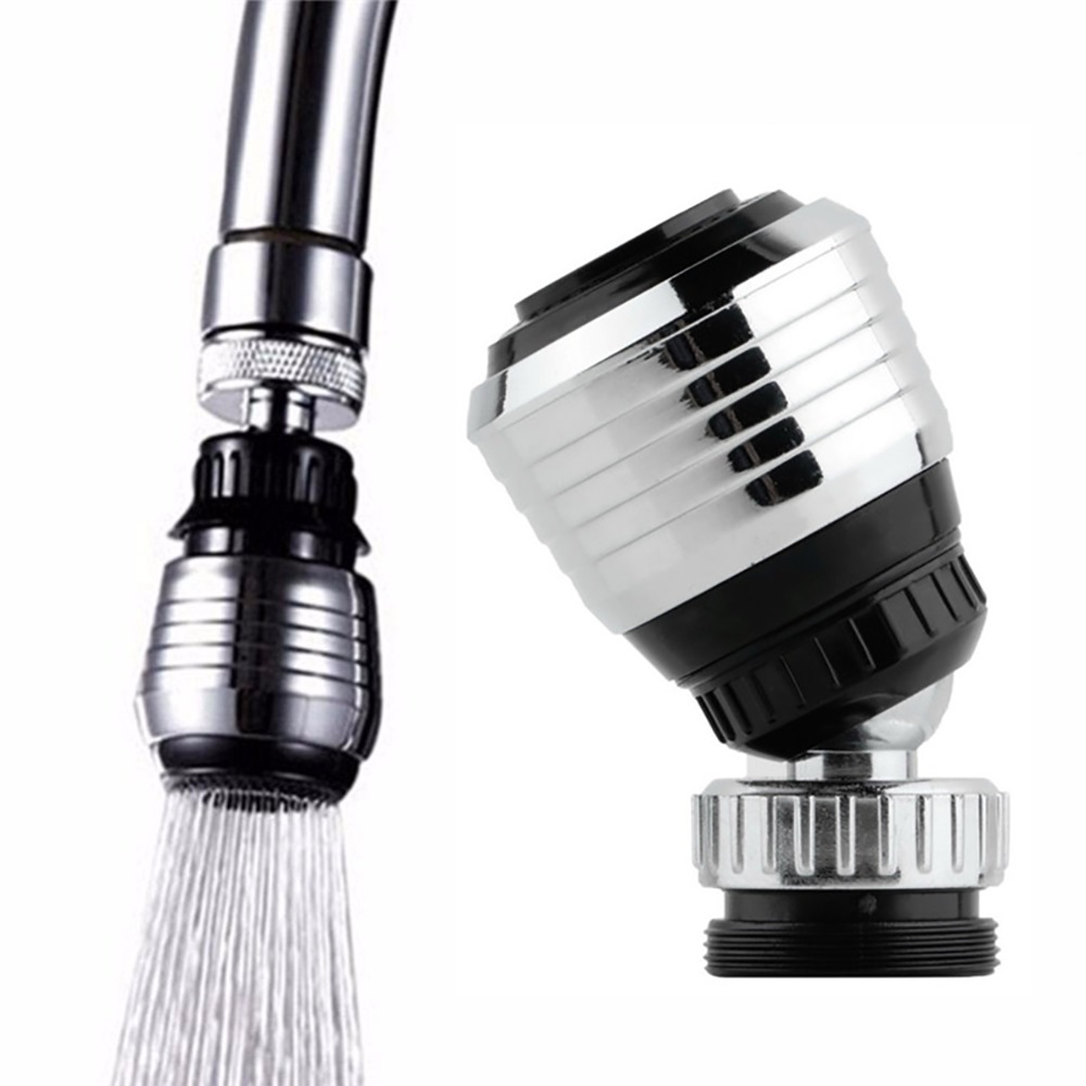360 Rotate Swivel Faucet Tap Nozzle Shower Head Faucet Filter Adapter Water Purifier Saving Tap Kitchen Bathroom Accessories