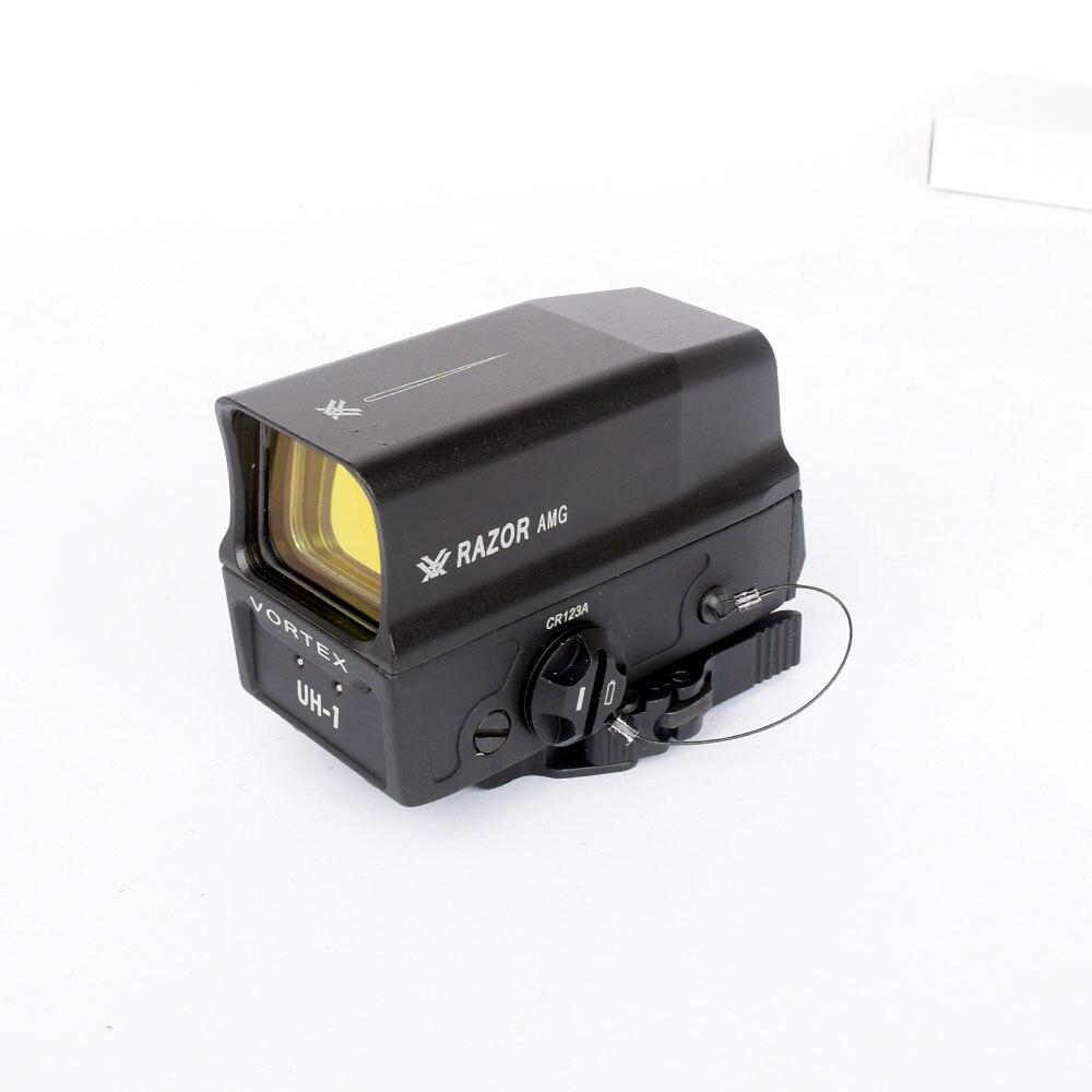 WIPSON 2018 НОВЫЙ ВИХРЬ бритва AMG UH1 голографический красный точечный прицел с USB зарядным устройством для батареи рефлекс точка зрения для Aimming