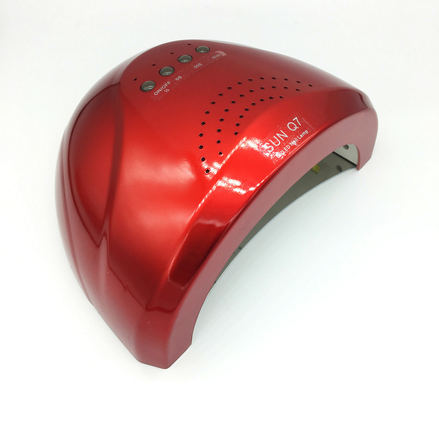 SUNQ7 48 vatios zu 24 vatios Schalter Uv-lampe Nagellack Trockner 5 S 30 S 60 S Trocknen nagel trockner/Kostenlose Lieferung