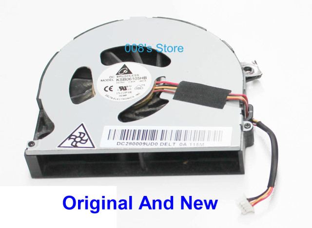 Original New Laptop CPU Cooling Fan For TOSHIBA Satellite P855-S5200 P855 P840 P845T P850 P850-31L DELTA KSB06105HB DC280009UD0