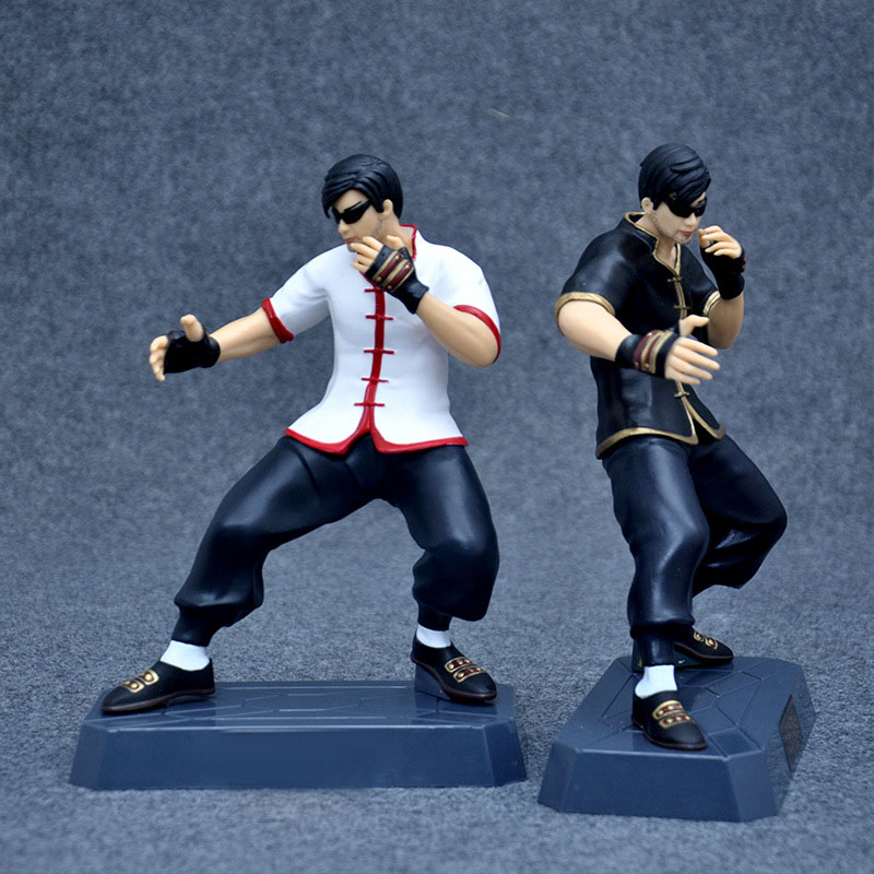 Hot LOL Legends Action Figure The Blind Monk Lee Sin Collection Doll Bruce Lee PVC 22cm Box-packed Game Heros Figurine high quality anime lol pvc action figures lee sin the blind monk yasuo master yi figures model toys for boy s birthday gift