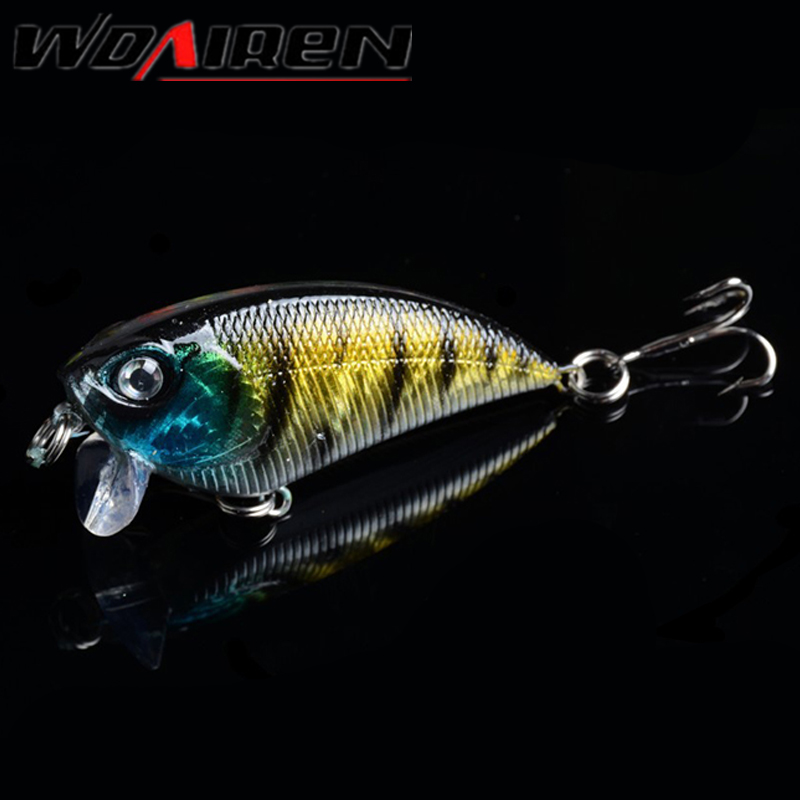 1Pcs Top water Fishing Lure 6.5g/55mm Lipless Crankbaits Hard Artificial VIB Vibration Bait Variable Depth Fishing Tackle WD-277