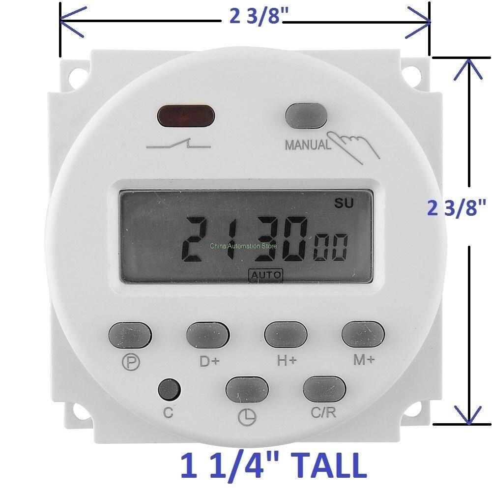 OKtimer CN101A  AC110V  Digital LCD Power Timer Programmable Time Switch Relay 16A timers CN101 timer 1Pcs lp116wh2 m116nwr1 ltn116at02 n116bge lb1 b116xw03 v 0 n116bge l41 n116bge lb1 ltn116at04 claa116wa03a b116xw01slim lcd